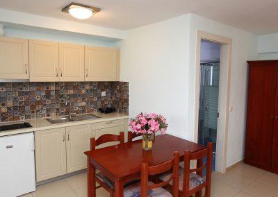 Double studio's room kitchen