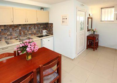 Double studio's kitchen