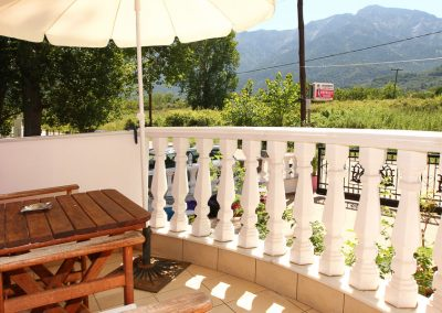 veranda view - standard apartment