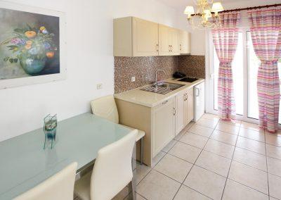 Superior's apartment kitchen view